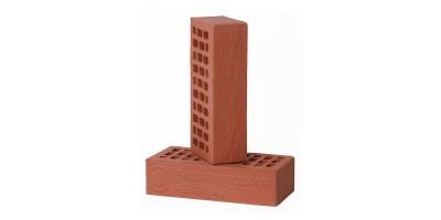 Кирпич одинарный лицевой Красный Дуб с песком 1НФ М200 F200