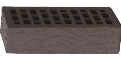 Кирпич одинарный лицевой Темно-коричневый Дуб 1НФ М200 F200