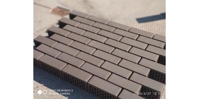 Кирпич полуторный лицевой Темно-Коричневый 1,4НФ М200 F200