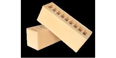 Кирпич керамический пустотелый 0.9 нф желтый