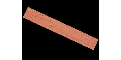 Кирпич красный керамический пустотелый фактура Ригель cortex, rock 1НФ М200