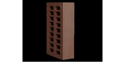 Кирпич коричневый пустотелый 1НФ М175
