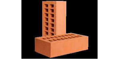 Кирпич красный пустотелый 1НФ М150