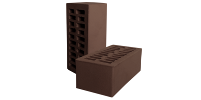 Кирпич коричневый пустотелый 1,4НФ М175