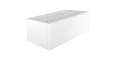 Кирпич пустотелый белый 1,4НФ М200