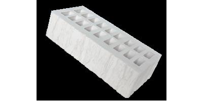 Белый кирпич фактура cortex 1НФ М200