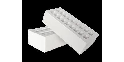 Пустотелый белый кирпич 1НФ М200