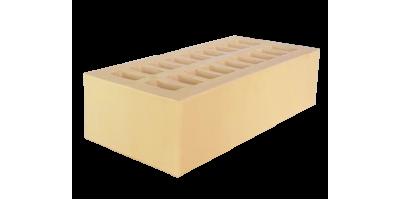 Кирпич пустотелый желтый 1НФ М200