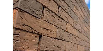 Кирпич керамический пустотелый фактурный Флэш обжиг  Coral 06 1НФ М200
