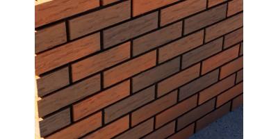 Кирпич керамический пустотелый фактурный Флэш обжиг  Rock 02 1НФ М200