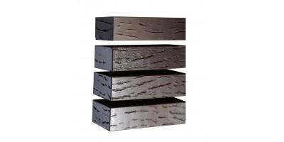 Кирпич керамический Флеш Антик Графит (250х120х65)
