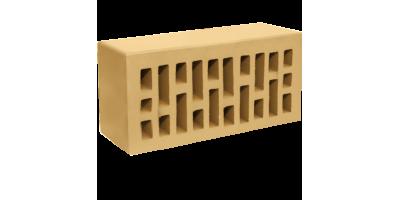 Кирпич лицевой соломенный утолщенный 1,4НФ