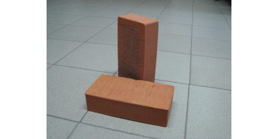 Печной полнотелый керамический кирпич(облицовочный)