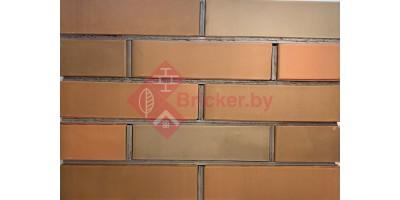 Кирпич одинарный лицевой Баварская кладка Графит гладкий 1НФ М200 F200