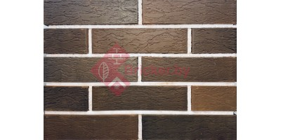 Кирпич одинарный лицевой Баварская кладка Графит Лава 1НФ М200 F200